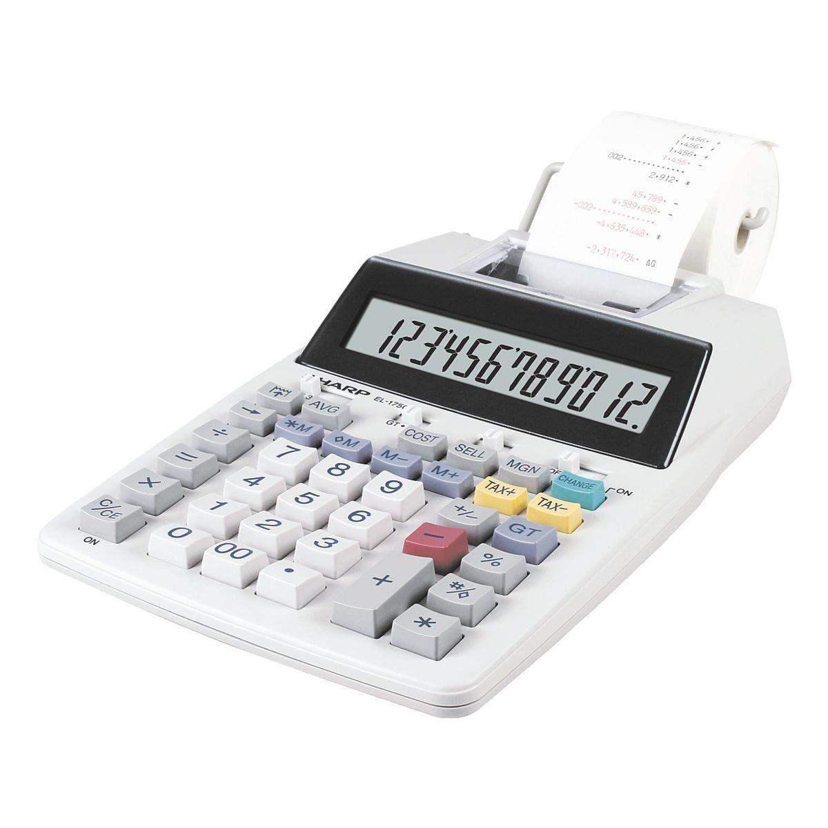 Sharp Druckender Tischrechner »EL-1750V«