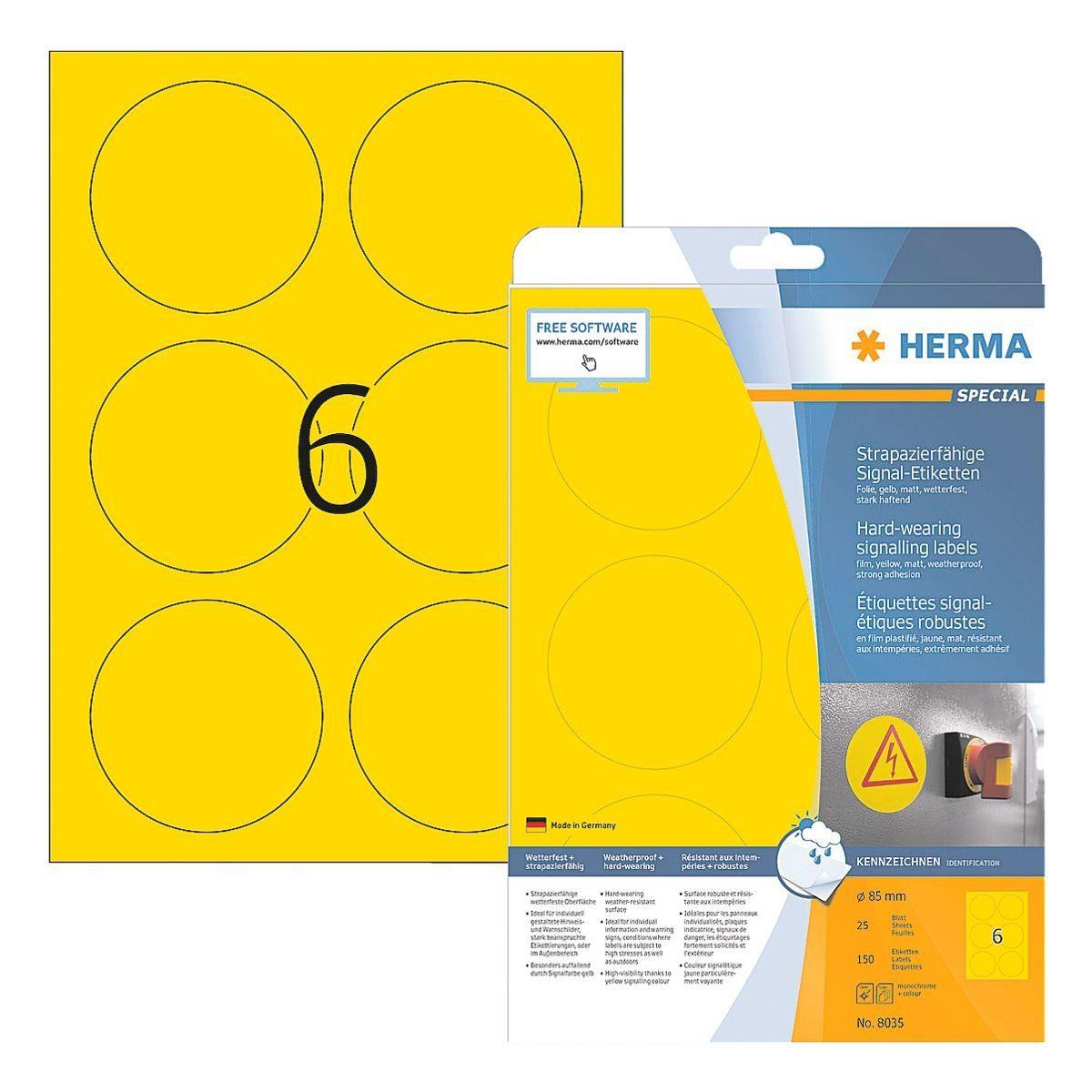 HERMA Outdoor Folien-Etiketten 150 Stück »Special«