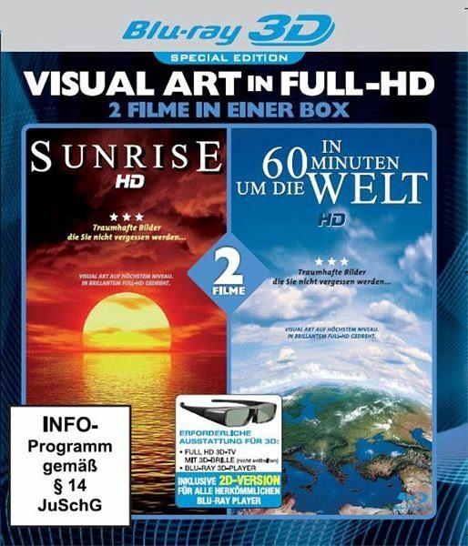 Blu-ray »Visual Art Full HD: Sunrise + In 60 Minuten um...«