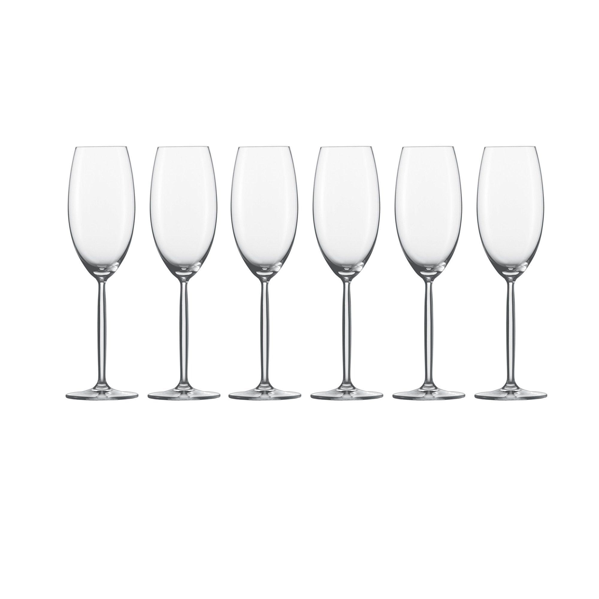 Champagner Glas 6er-Set »Diva«