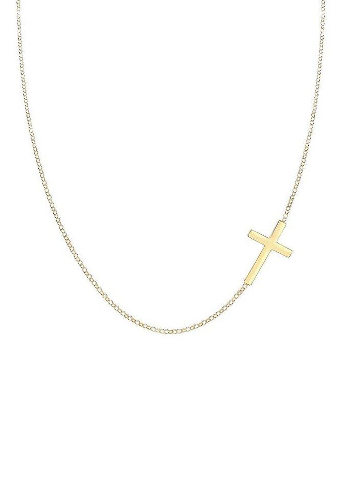 63c2846f083b Elli Collierkettchen »Kreuz Religion Glaube Trend 925 Sterling Silber«