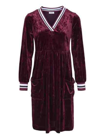 heine CASUAL Kleid mit eingesetzten Ärmel