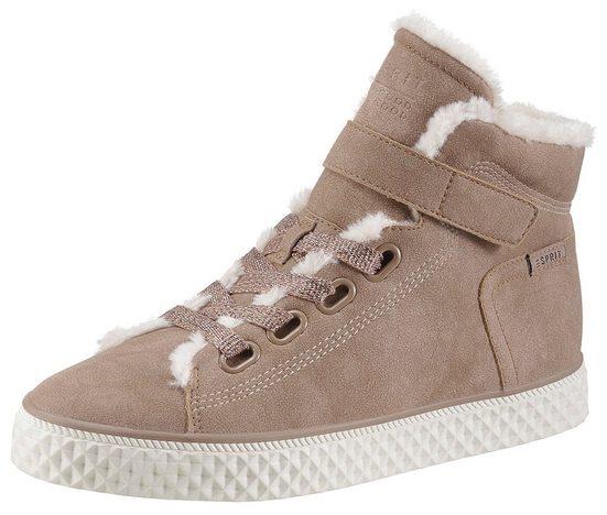 Esprit »Indya 1 Tape« Sneaker im winterlichen Look