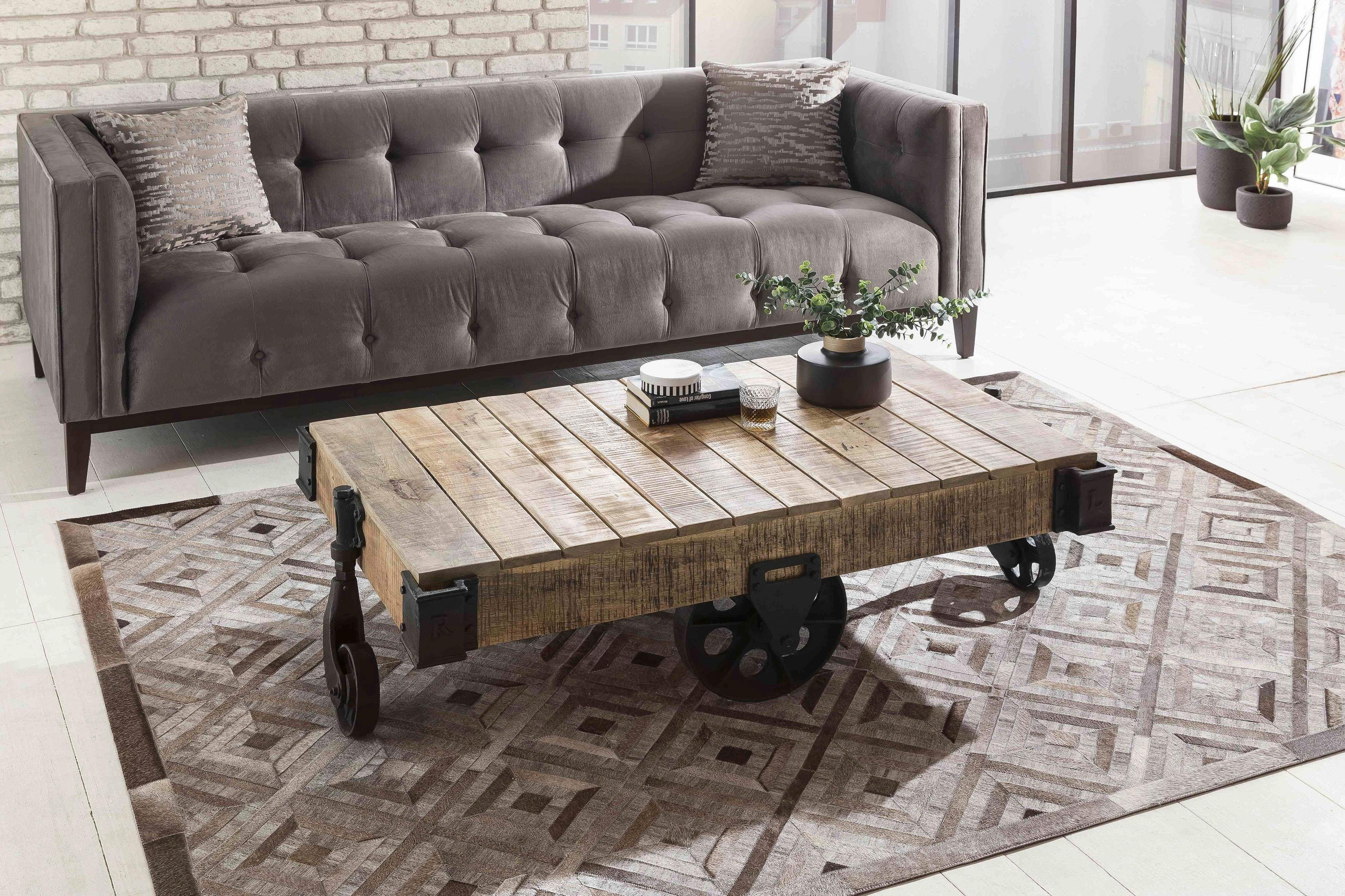 SIT Couchtisch »This&That« recyceltes Mangoholz