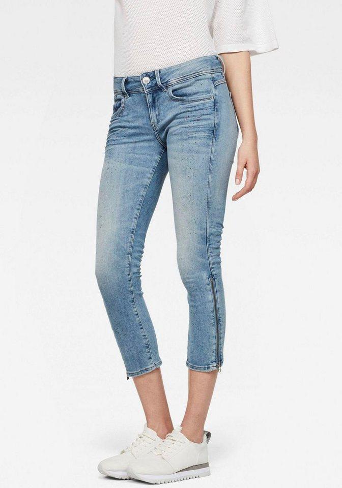 891ce26f3d970 G-Star RAW 7 8-Jeans »Lynn Mid Skinny 7 8« mit trendstarken ...