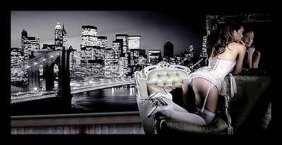 Home affaire Bild »Evening in New York«, mit Rahmen