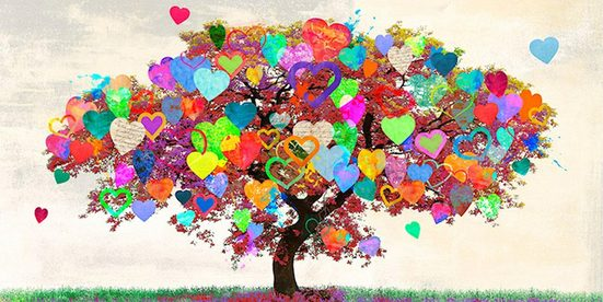 INOSIGN Deco-Panel »MALIA RODRIGUES - Tree of Love«