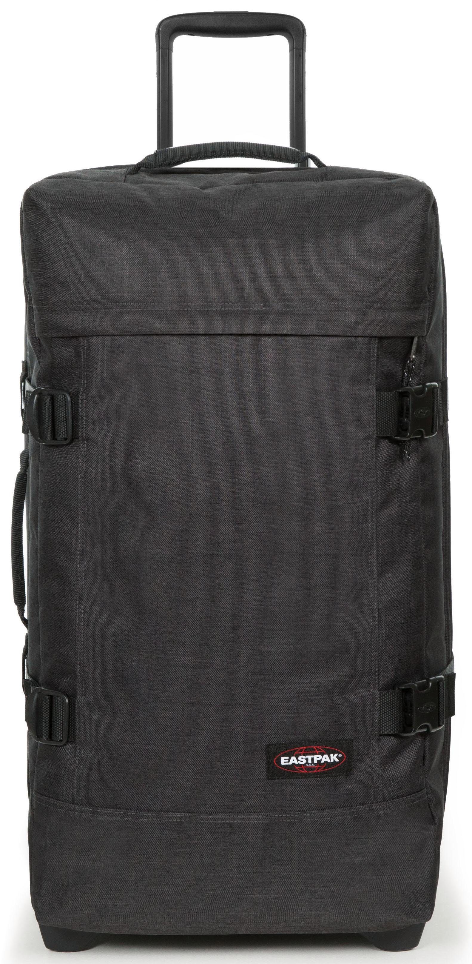 Eastpak Reisetasche mit 2 Rollen, »TRANVERZ WHEELED LUGGAGE M, loud black«