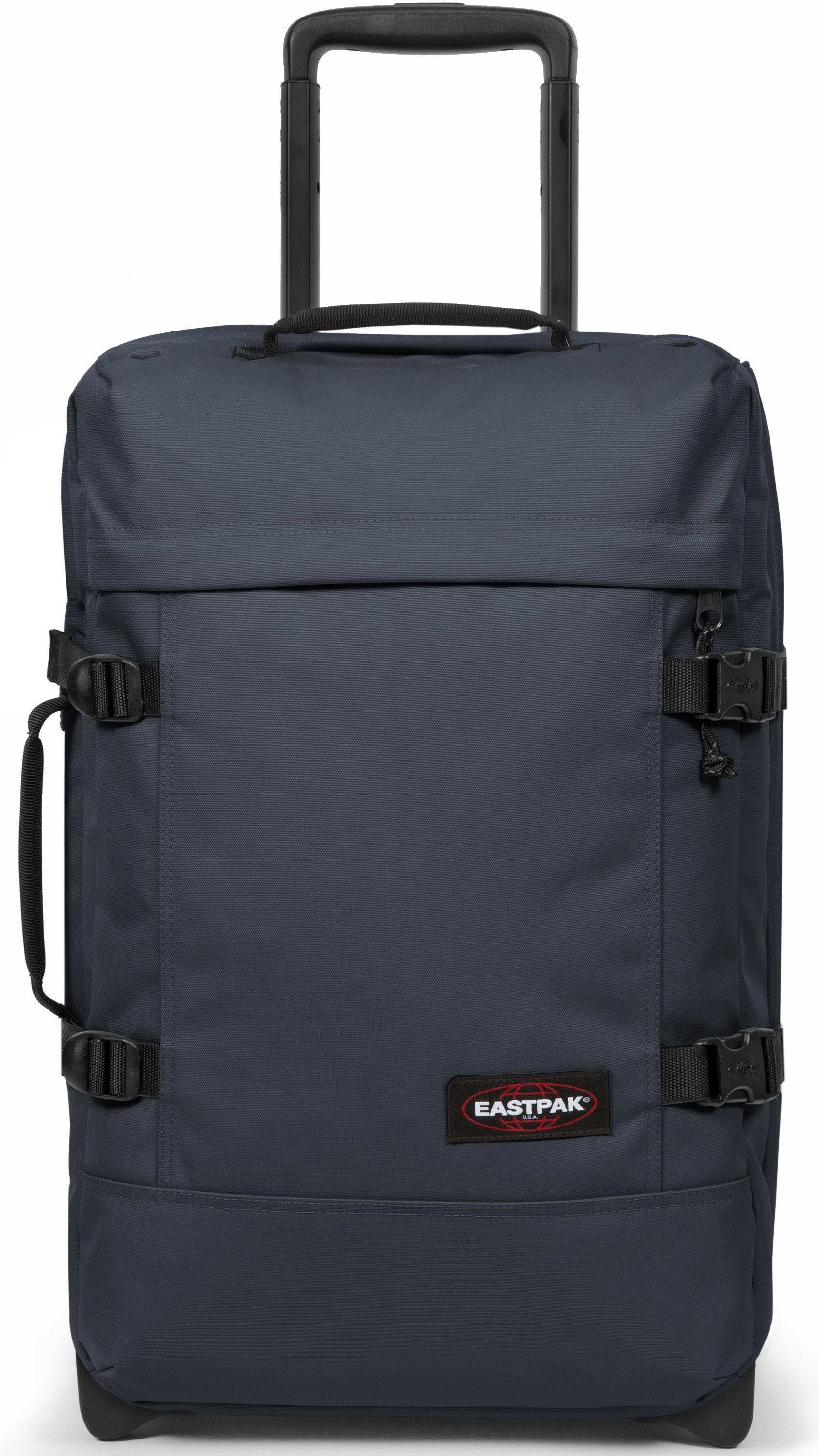 Eastpak Reisetasche mit 2 Rollen, »TRANVERZ WHEELED LUGGAGE S, quiet grey«