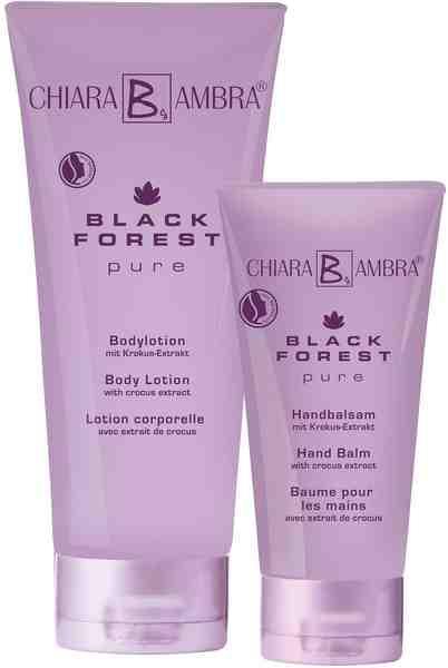Chiara Ambra, »SET BLACK FOREST PURE«, Bodylotion (200 ml) plus Handbalsam gratis (50 ml)