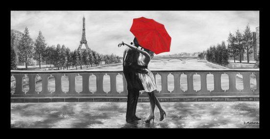 Leonique Kunstdruck »Romantic«, mit Rahmen