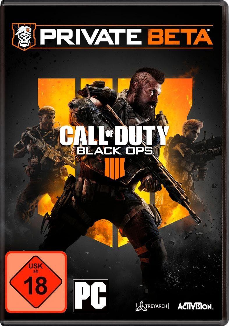 NEU Call of Duty: Black Ops 4 PC, inkl. BETA-Code