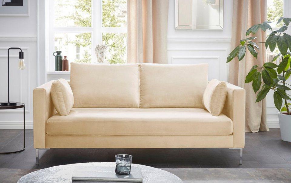 Alte Gerberei 2-Sitzer Sofa »Marinus« mit schmalen Lehnen, inklusive ...