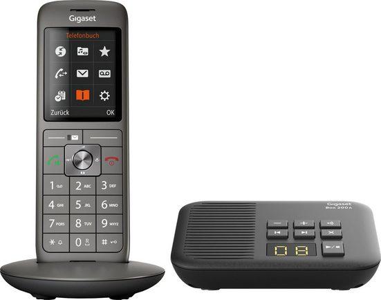 Gigaset »CL660A mit Box 200A« Schnurloses DECT-Telefon (Mobilteile: 1, mit Anrufbeantworter)