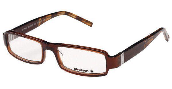 Strellson Brille »Clark ST1253«, braun, 522 - braun