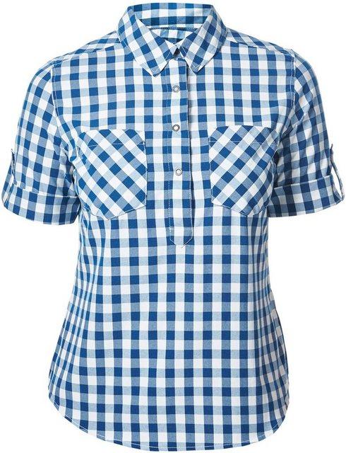 Damen Berghaus Bluse Exp***** 2.0 SS Shirt Women blau | 05052071896063