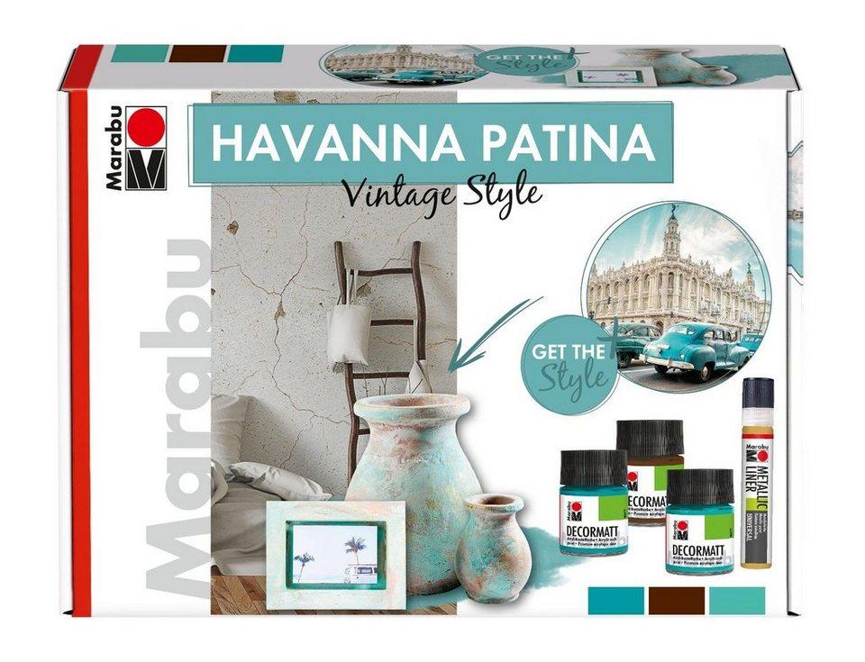 "Marabu Farbset ""HAVANNA Patina Vintage-Stil"" 6-tlg. online kaufen"