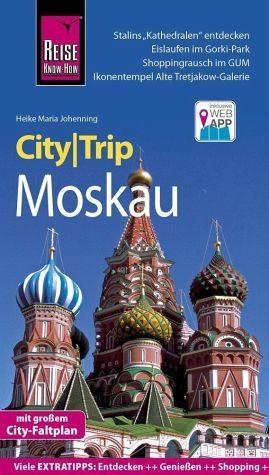 Broschiertes Buch »Reise Know-How CityTrip Moskau«