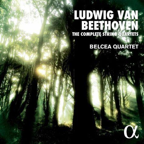 Audio CD »Ludwig van Beethoven: Die Streichquartette«