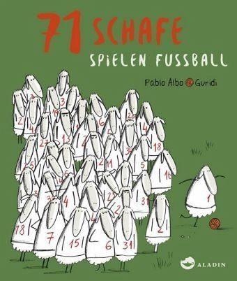Gebundenes Buch »71 Schafe spielen Fussball«