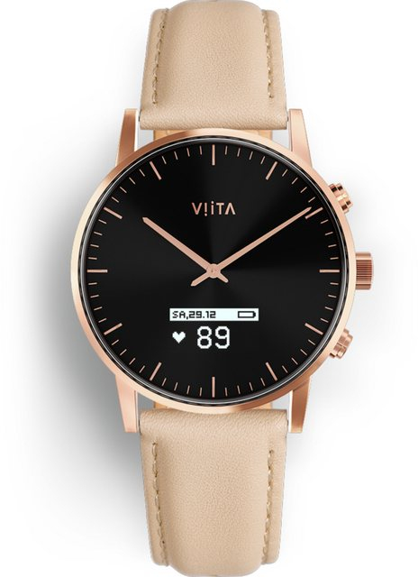 Smartwatches - Viita Connected Watch »Hybrid HRV Classic«  - Onlineshop OTTO