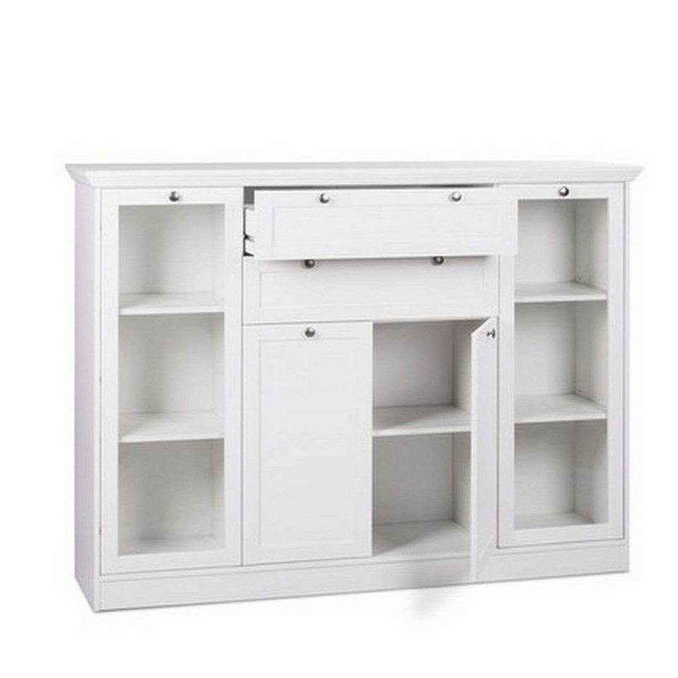 hti living highboard landwood online kaufen otto. Black Bedroom Furniture Sets. Home Design Ideas