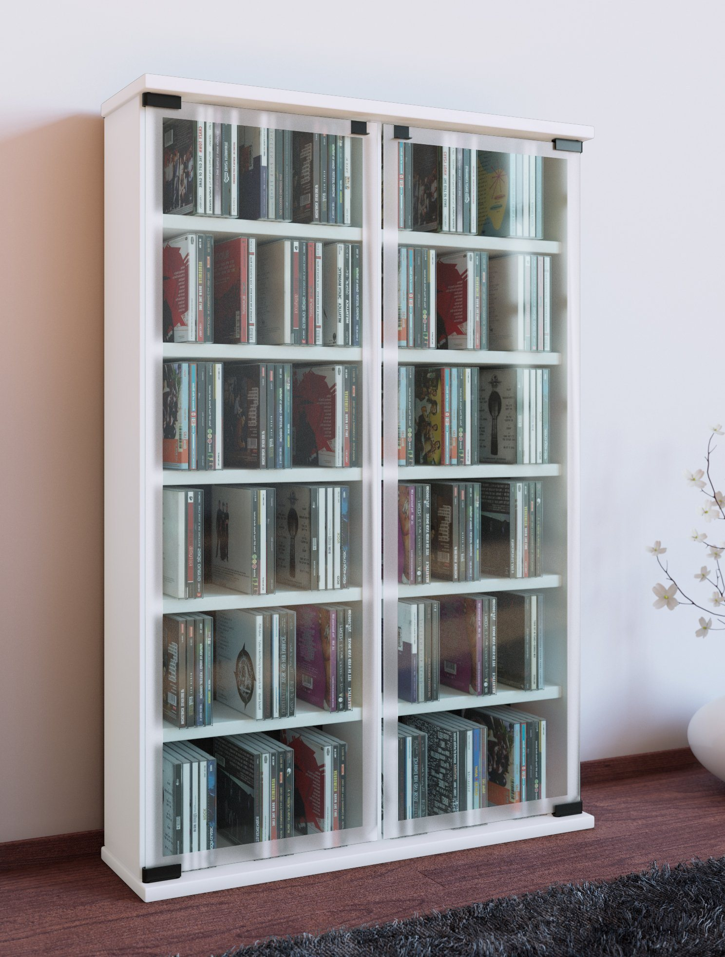 cd regal weiss preisvergleich die besten angebote online. Black Bedroom Furniture Sets. Home Design Ideas