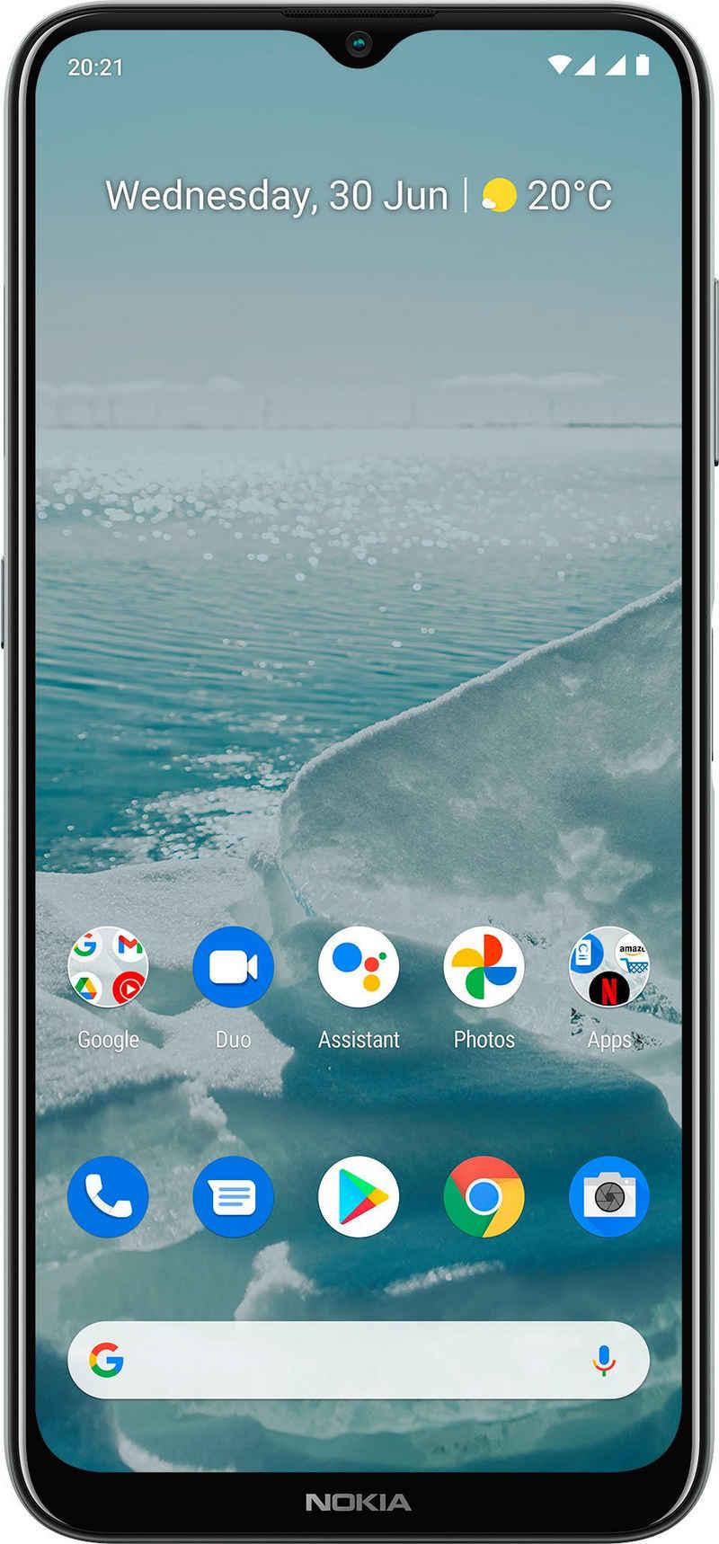 Nokia G20,4+64GB, Dual SIM Smartphone (16,54 cm/6,51 Zoll, 64 GB Speicherplatz, 48 MP Kamera)