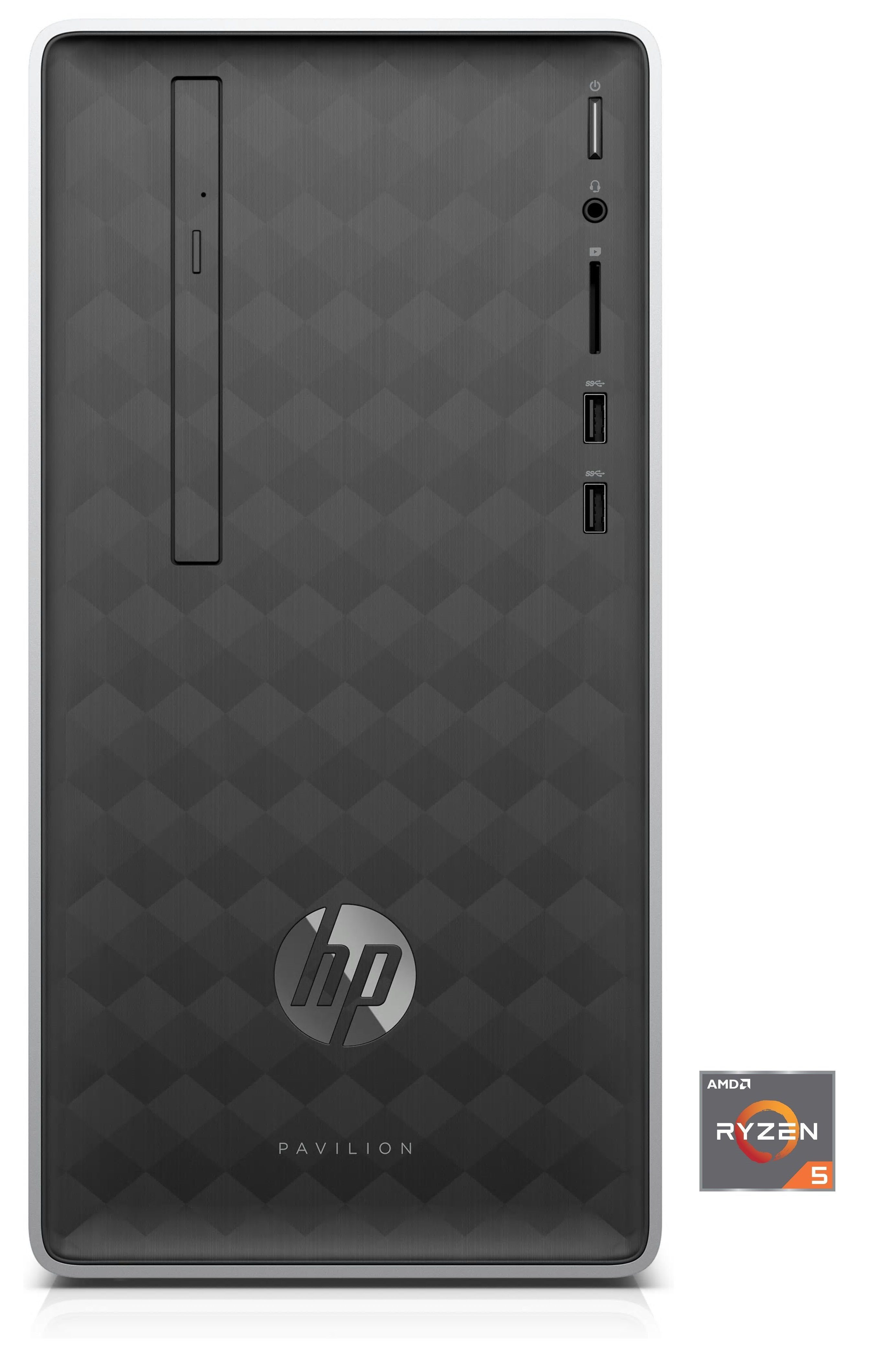 HP Pavilion 590-p0567ng Desktop PC »AMD Ryzen 5, 512 GB SSD, 8 GB«