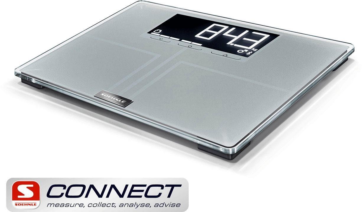 Soehnle Körper-Analysewaage Shape Sense Connect 200, mit Bluetooth®