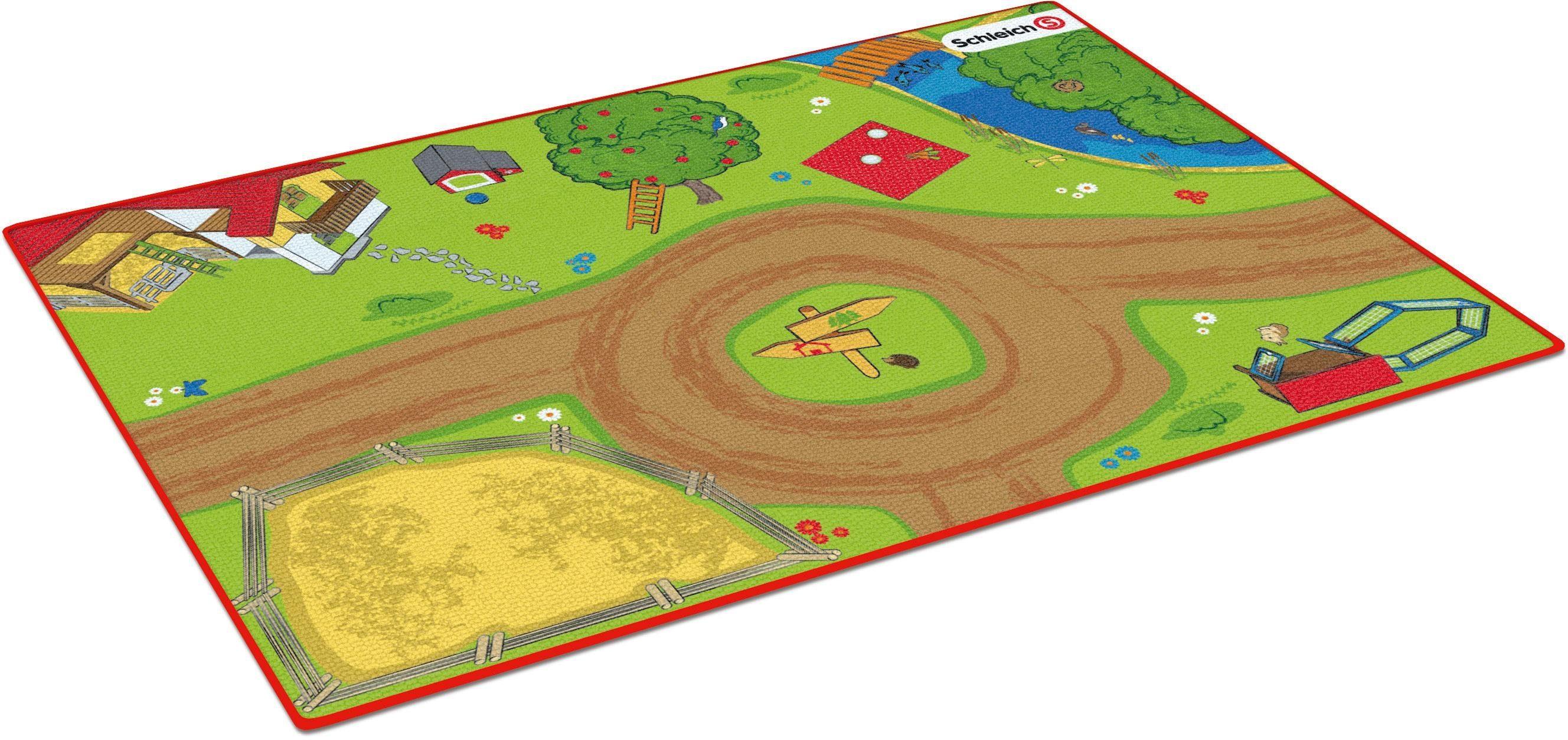 Schleich® Spielunterlage (42442), »Spielteppich Bauernhof«