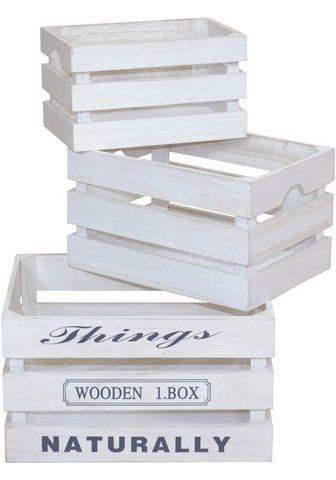 Medinė dėžutė (Rinkinys 3 vienetai)