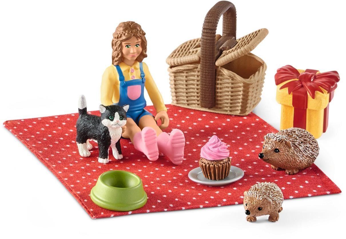 Schleich® Spielset (42426), »Farm World, Geburtstagspicknick«