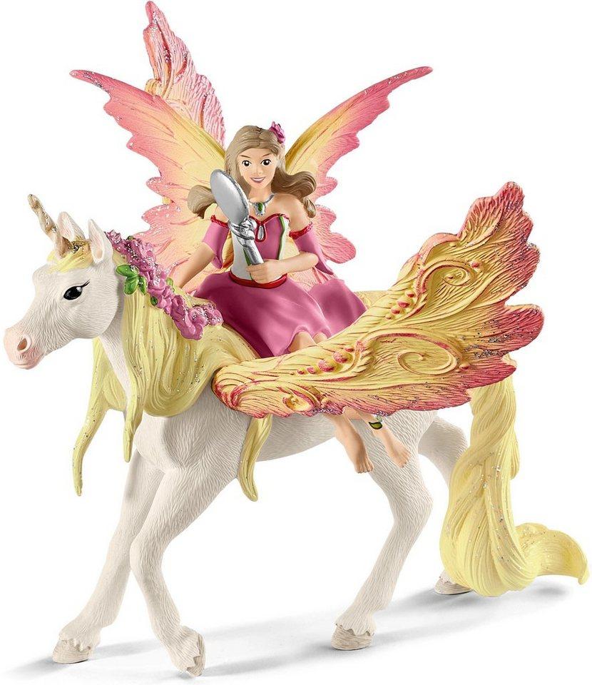 Schleich® Spielfigur »bayala, Feya mit Pegasus-Einhorn (18