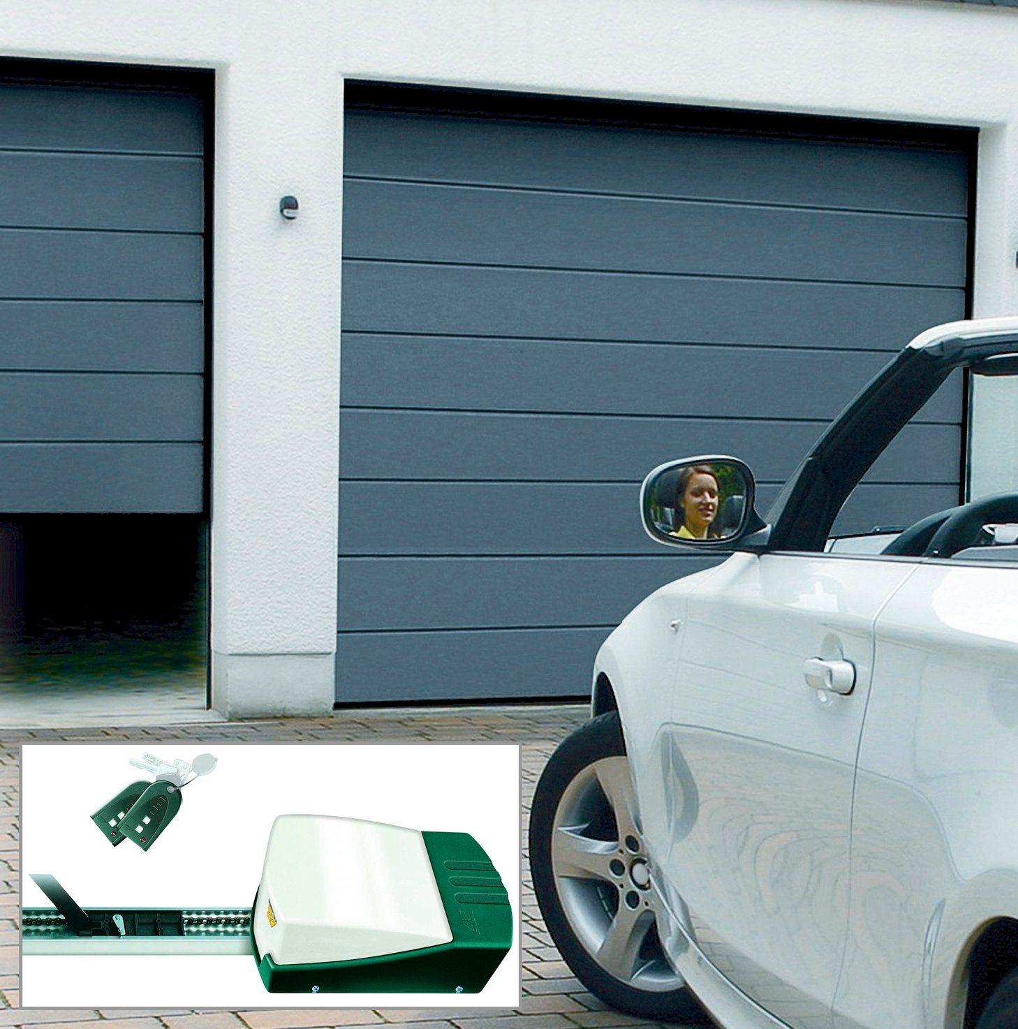 SCHELLENBERG Set: Garagentor , BxH: 237,5 x 212,5 cm, anthrazit | Baumarkt > Garagen und Carports > Garagentore | SCHELLENBERG