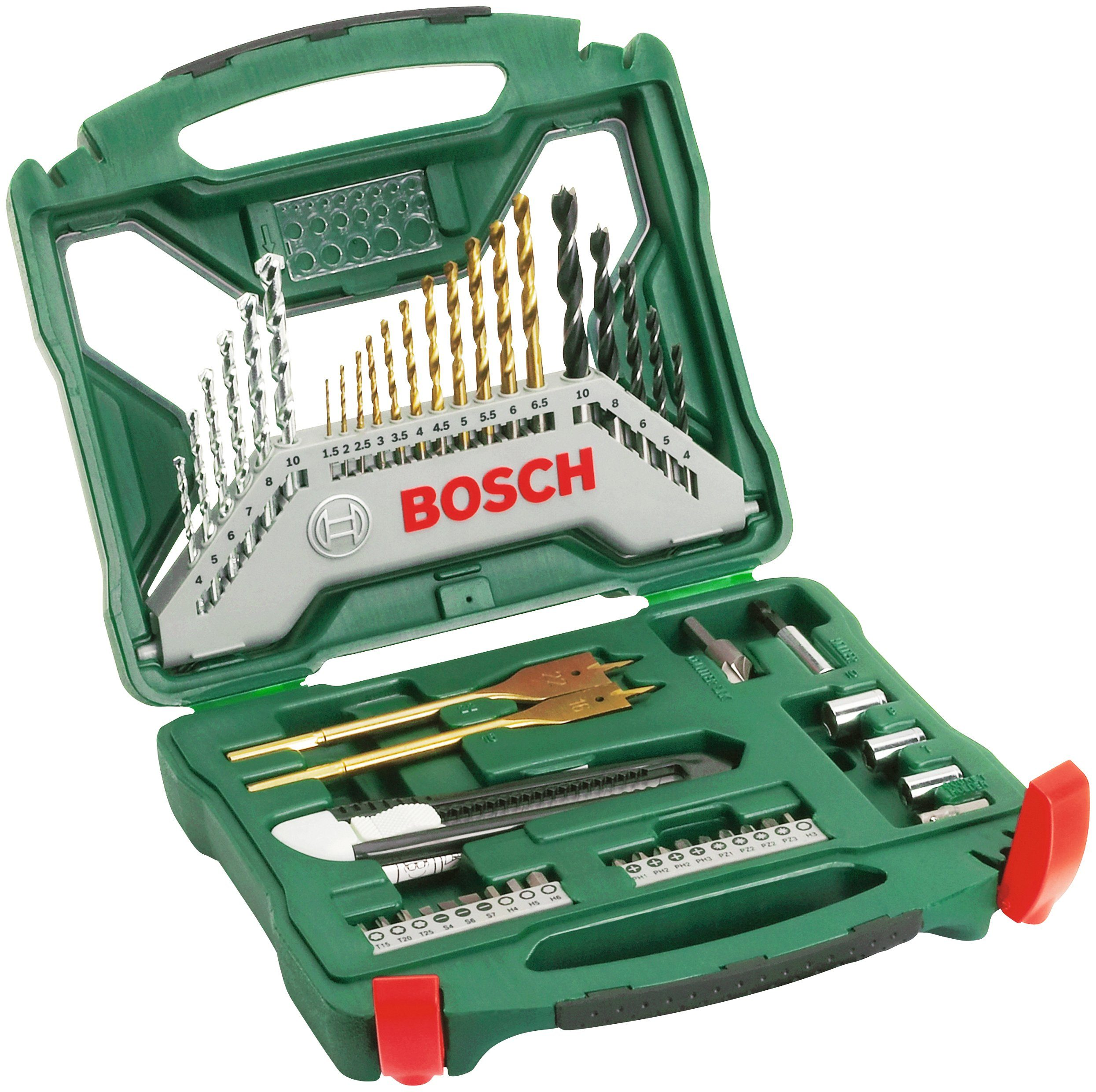 BOSCH Bohrer- und Bit-Set »X-Line Titanium«, 50-tlg.