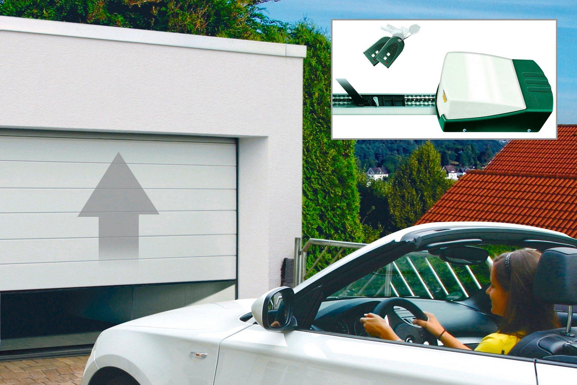 SCHELLENBERG Set: Garagentor , BxH: 237,5 x 212,5 cm, weiß | Baumarkt > Garagen und Carports > Garagentore | SCHELLENBERG