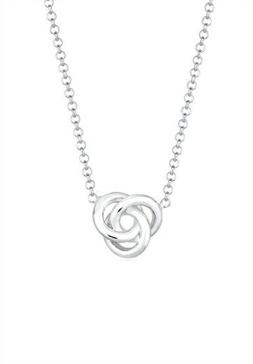 Elli Collierkettchen »Knoten Knot 925 Sterling Silber«