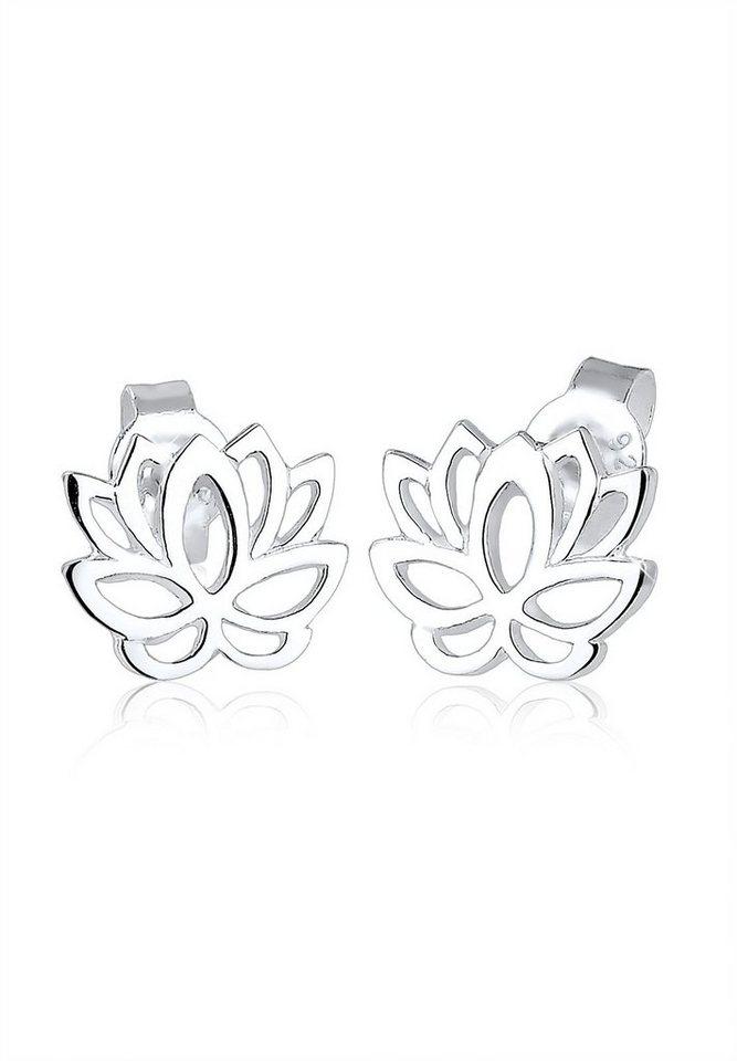 Elli Paar Ohrstecker »Lotusblume Blüte Lotus 925 Silber« | Schmuck > Ohrschmuck & Ohrringe > Ohrstecker | Elli