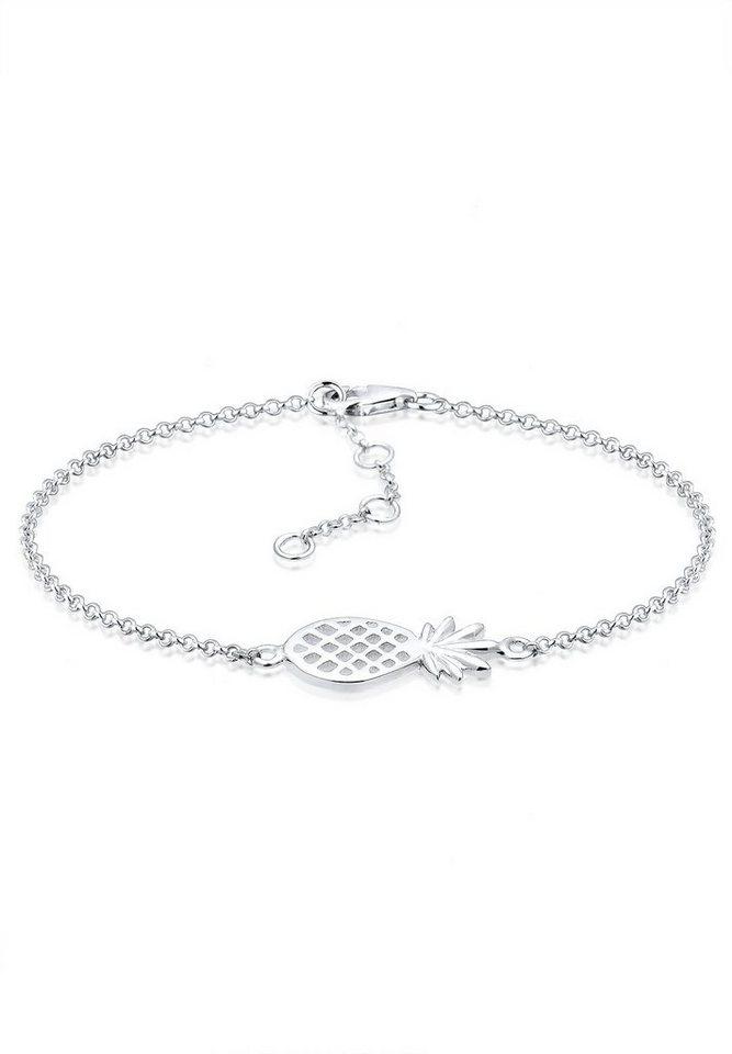 Elli Armband »Ananas 925 Sterling Silber« | Schmuck > Armbänder > Silberarmbänder | Elli