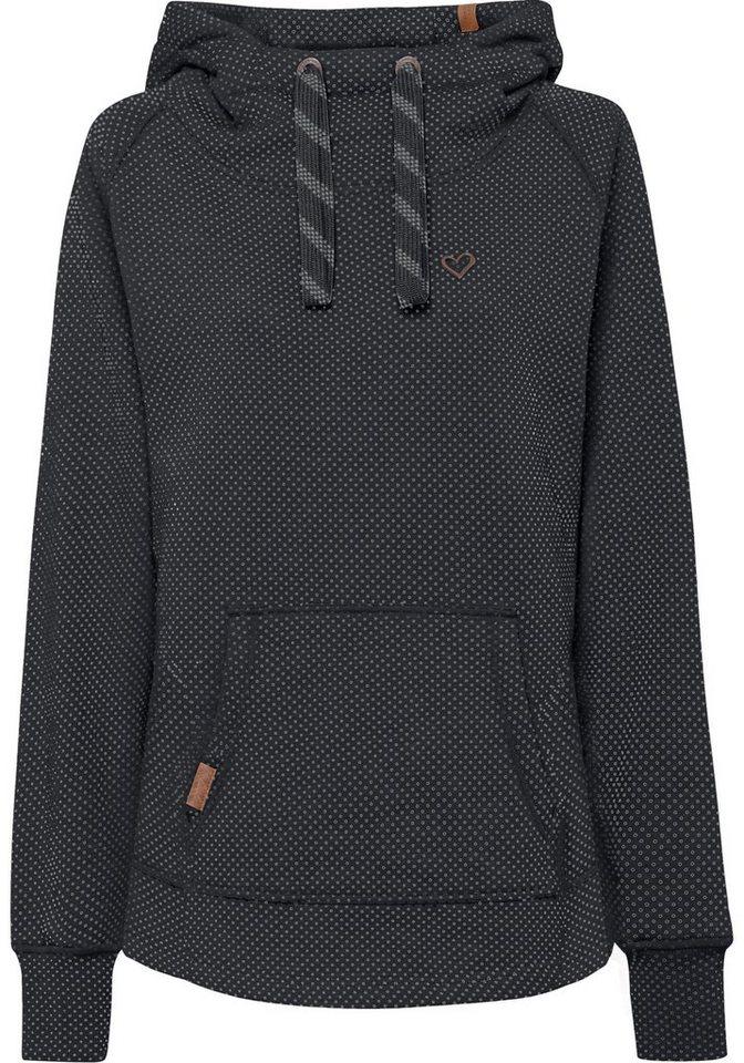 b6e4dff49dc44a alife and kickin Kapuzensweatshirt »MARA« süßer Hoodie im modischen  Pünktchenlook