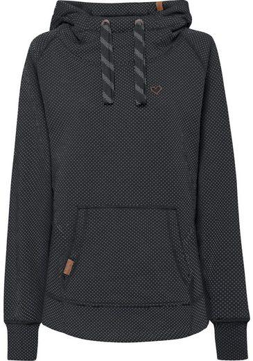 alife and kickin Kapuzensweatshirt »MARA« süßer Hoodie im modischen Pünktchenlook