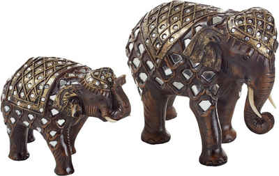 e0e17d239b6f4c Home affaire Dekofigur »Orientalische Elefanten« (2-tlg. Set)