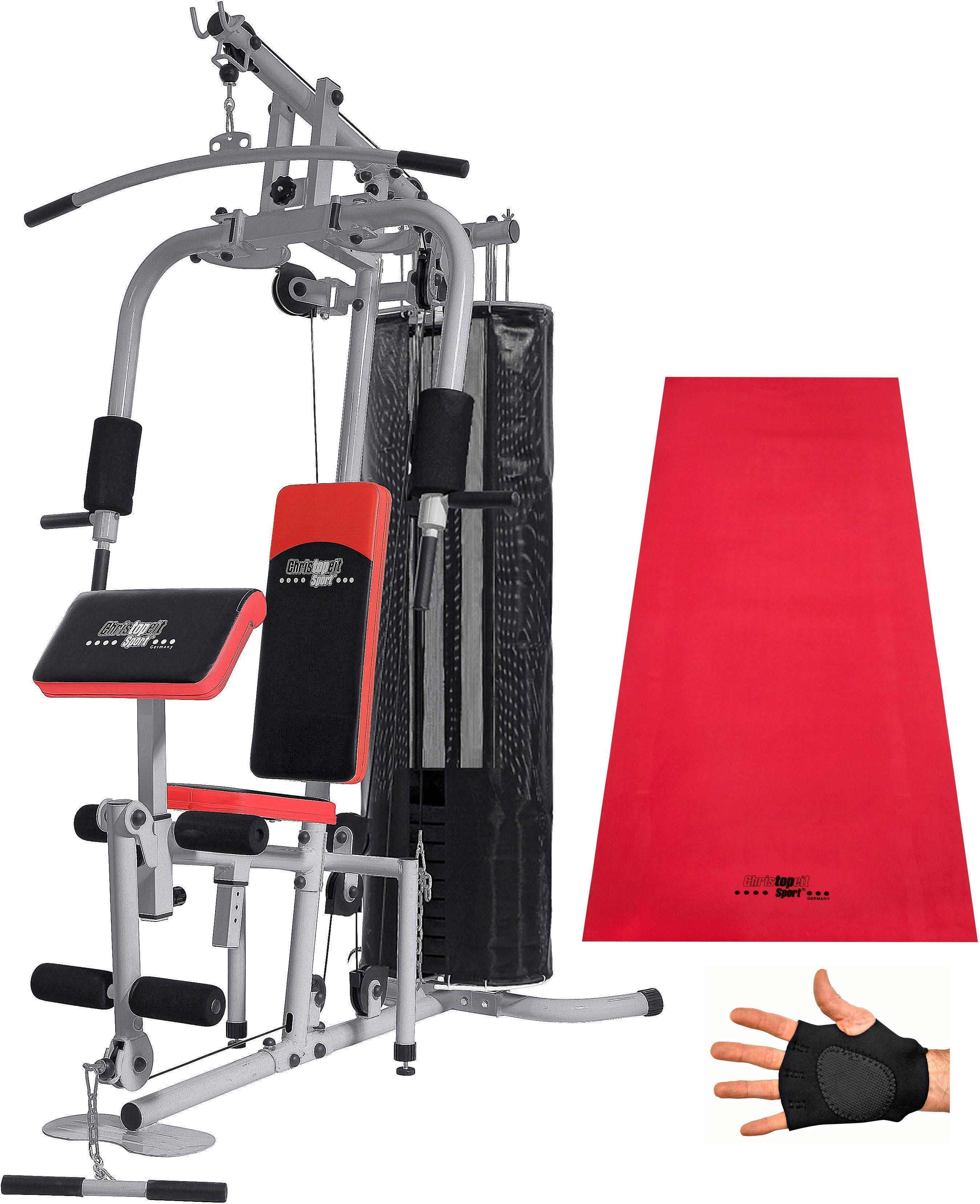 Christopeit Sport® Kraftstation »SP 20 XL«, 8 Gewichtsblöcke