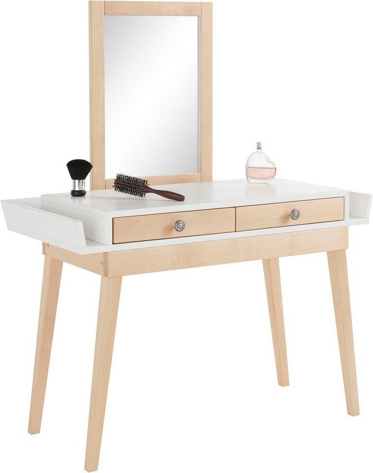 Andas schminktisch mit spiegel im skandinavischen stil breite 100 cm online kaufen otto for Sprinter breite mit spiegel