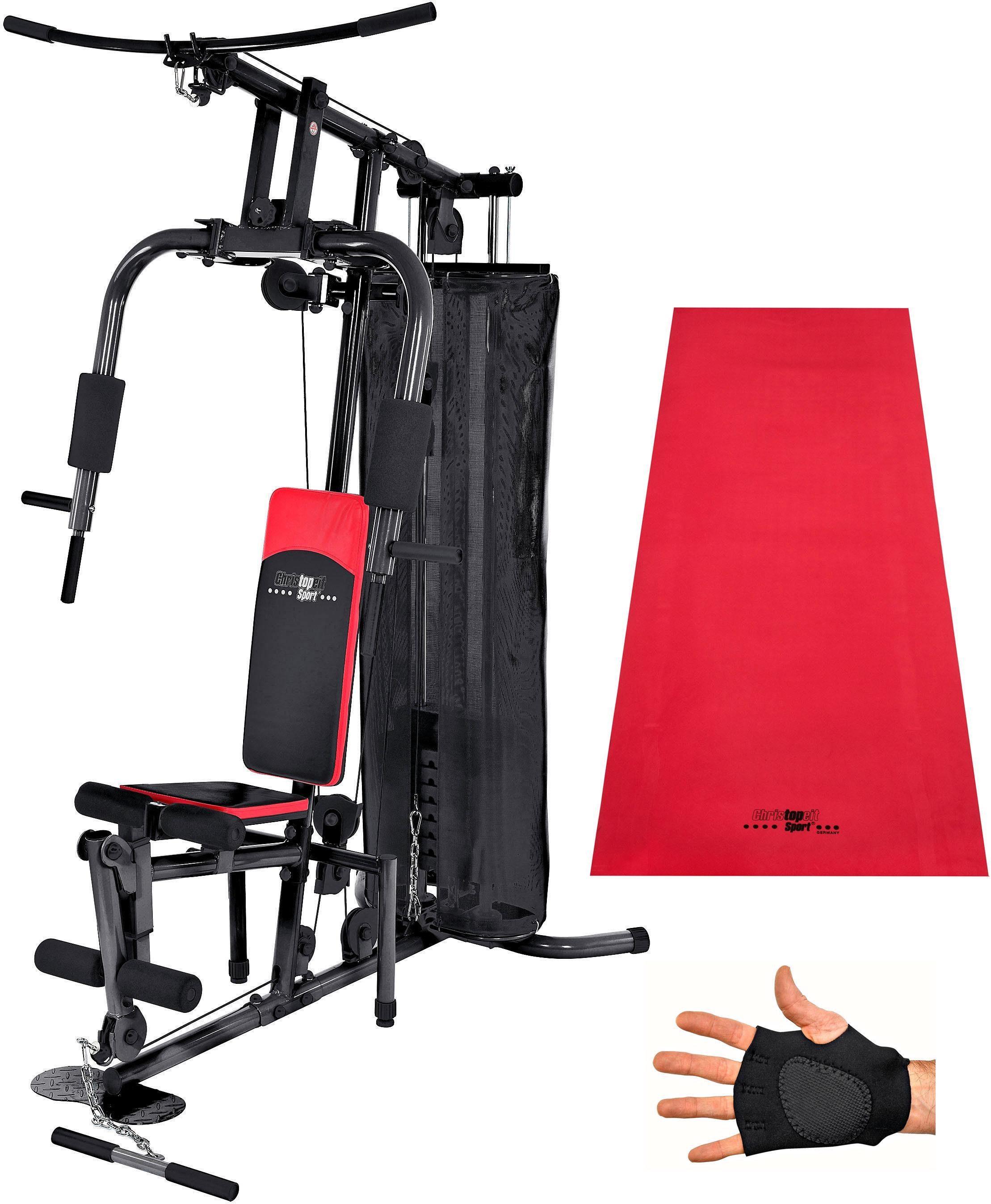 Christopeit Sport® Kraftstation »SP 10 de Luxe«, 8 Gewichtsblöcke
