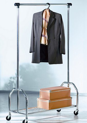 Rollbare Garderobe