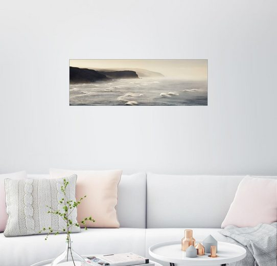Posterlounge Wandbild - Matteo Colombo »Panorama auf das Meer an der Küste von Austra...«