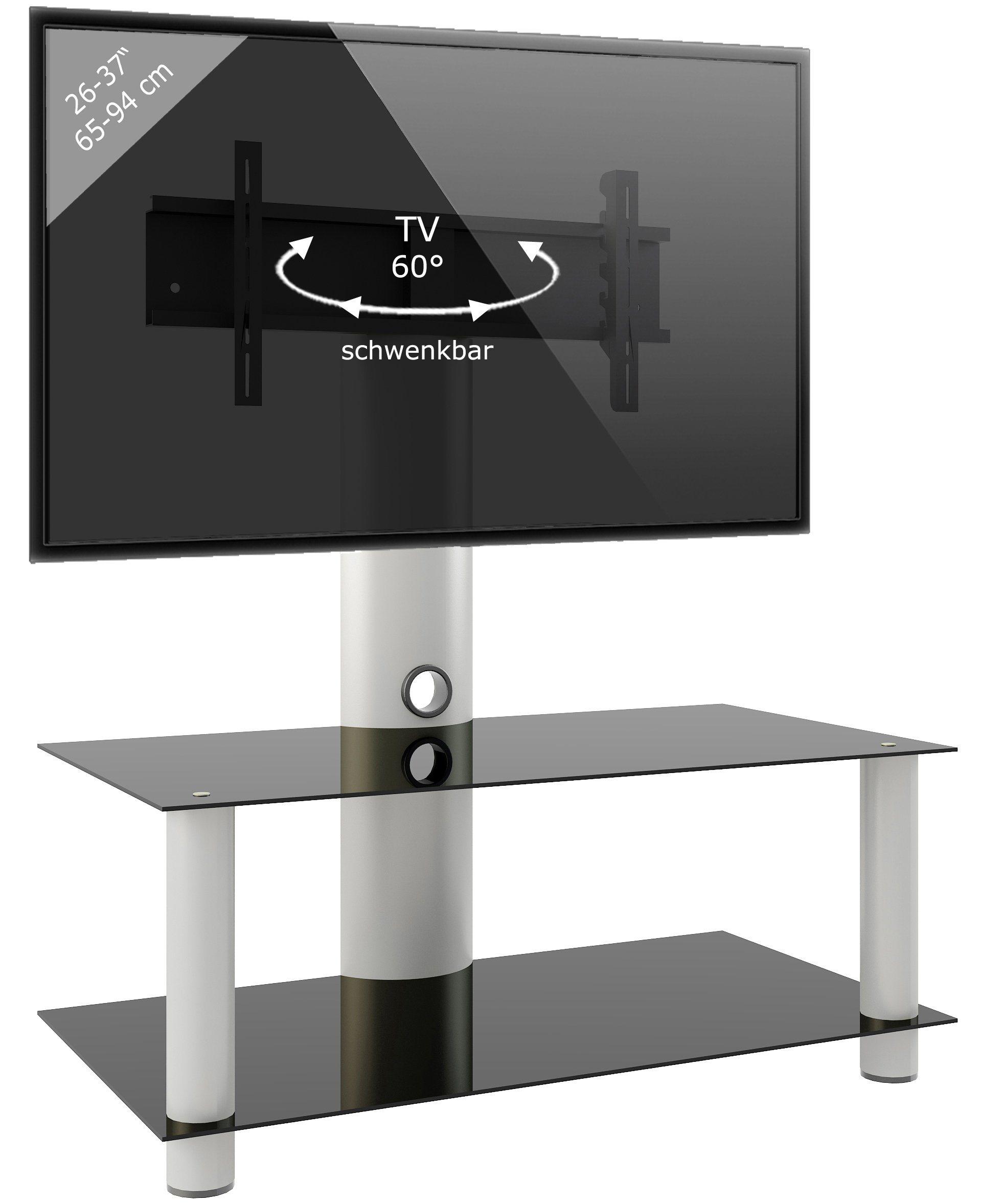 VCM TV-Standfuß ´´´Valeni Mini´´ | Wohnzimmer > TV-HiFi-Möbel > Ständer & Standfüße | Aluminium - Sicherheitsglas | VCM
