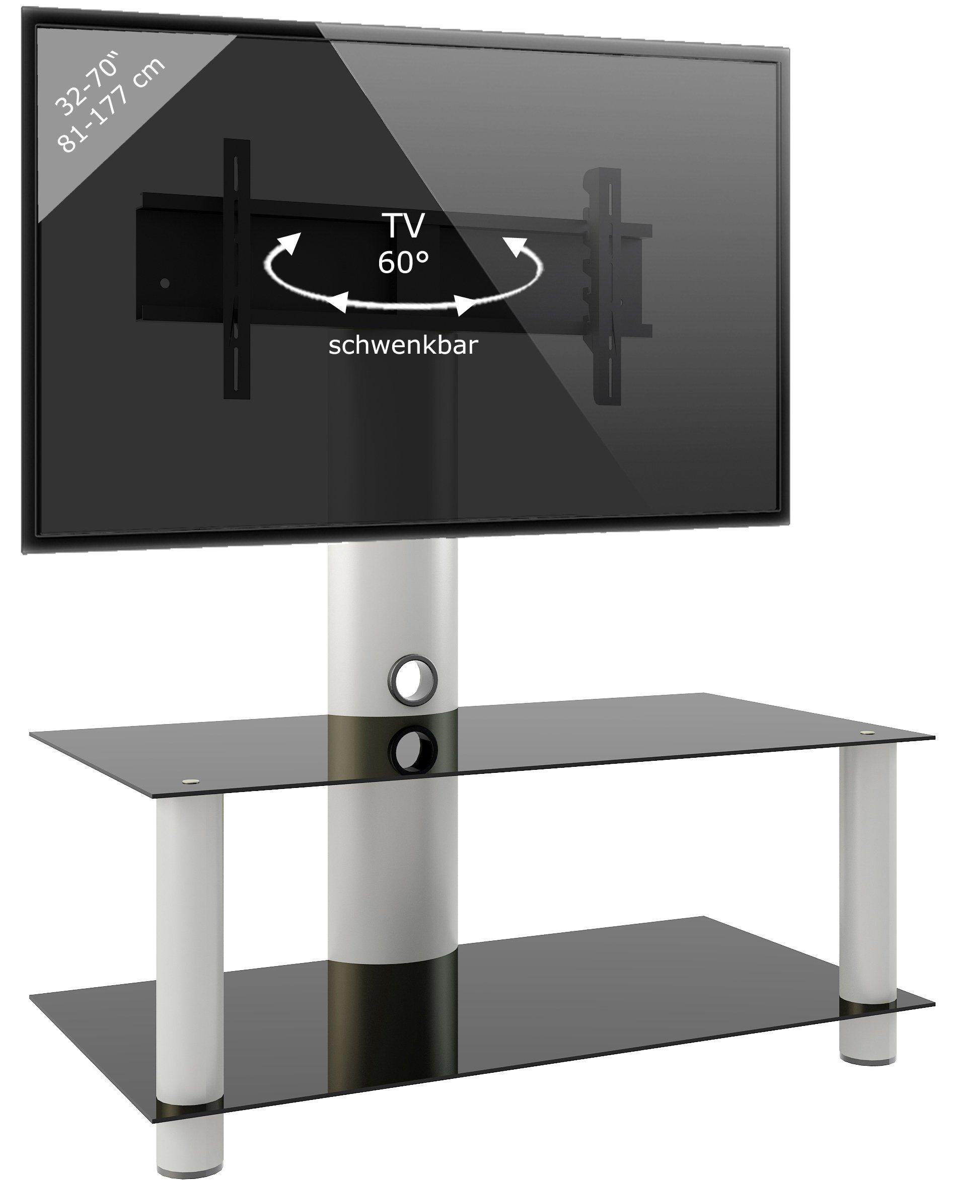 VCM TV-Standfuß ´´´Valeni Maxi´´ | Wohnzimmer > TV-HiFi-Möbel > Ständer & Standfüße | Aluminium - Sicherheitsglas | VCM